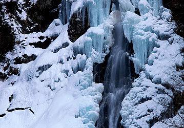 琵琶の滝、中の滝