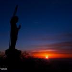 釈迦ヶ岳の朝