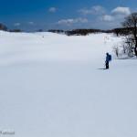 まだまだ雪の御池岳