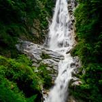 篠沢大滝、黒戸噴水滝