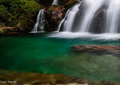 台高黒石谷無名滝