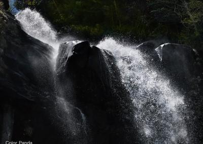 台高銚子川支流清五郎滝