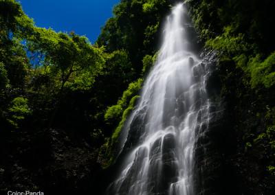 大峰北山川九重谷無名大滝