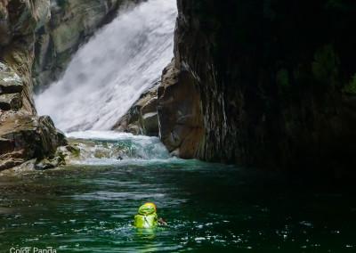 大峰滝川本谷無名滝