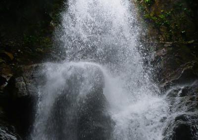 鈴鹿宇賀川蛇谷無名滝(五階滝)