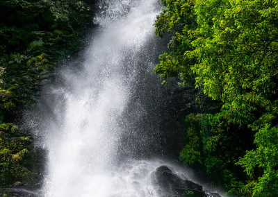 台高備後川ナル谷大滝