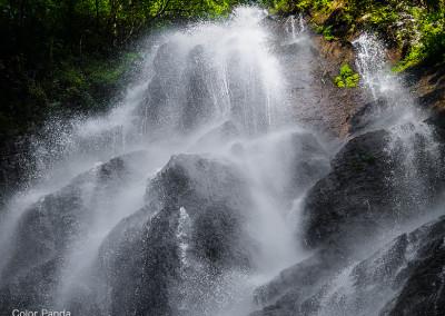南紀熊野川立間戸谷支流屏風滝