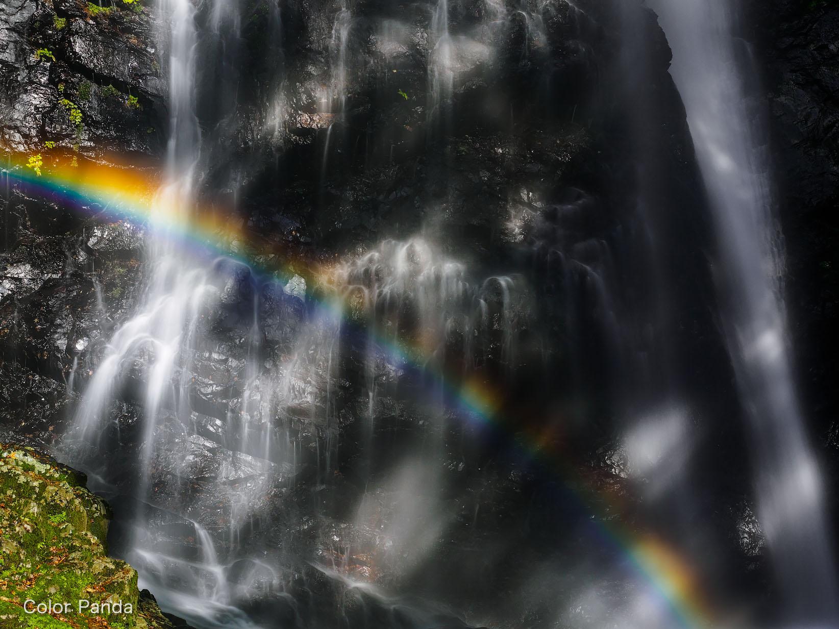 大峰の秘瀑