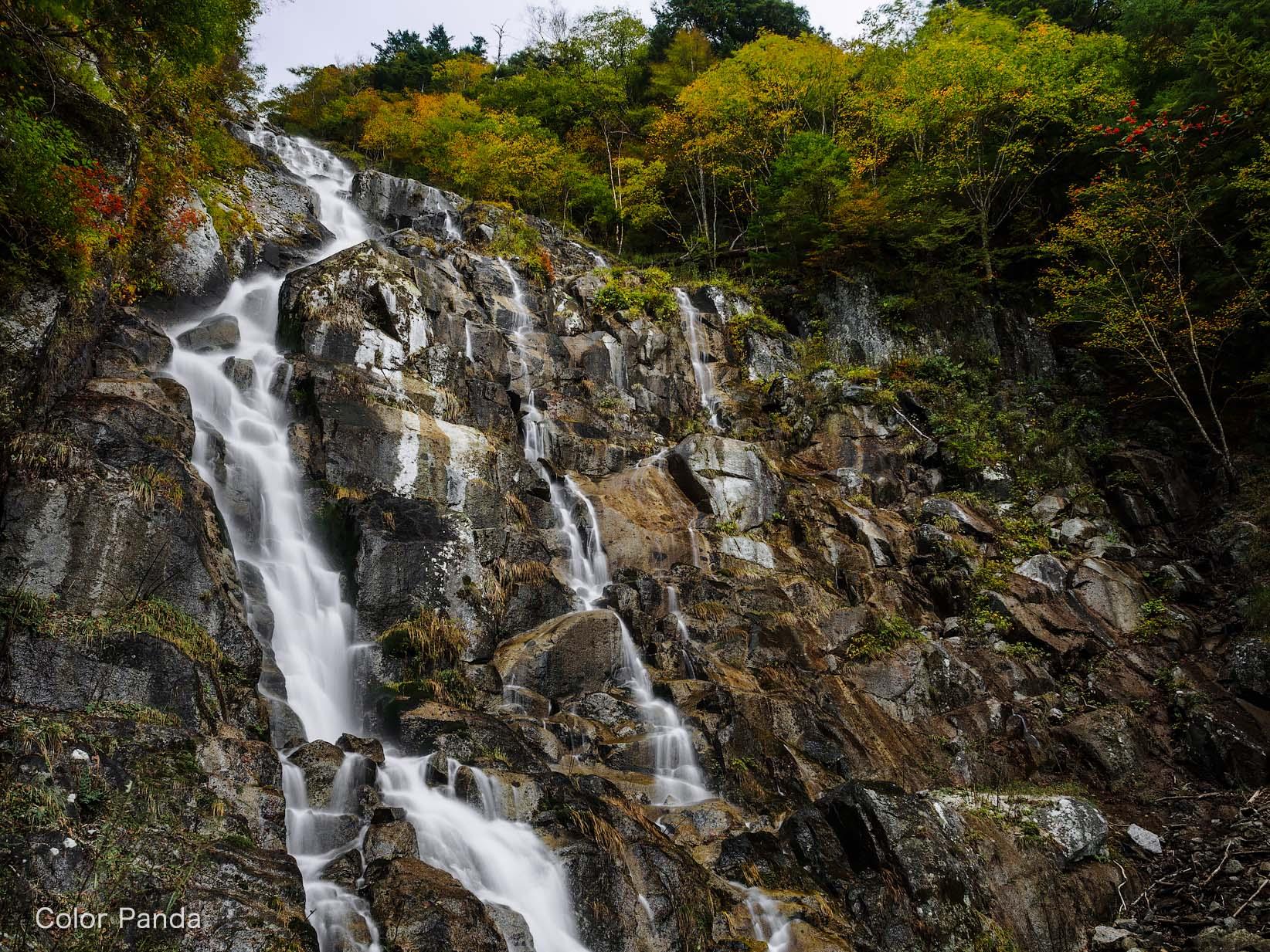 ヌク沢大滝