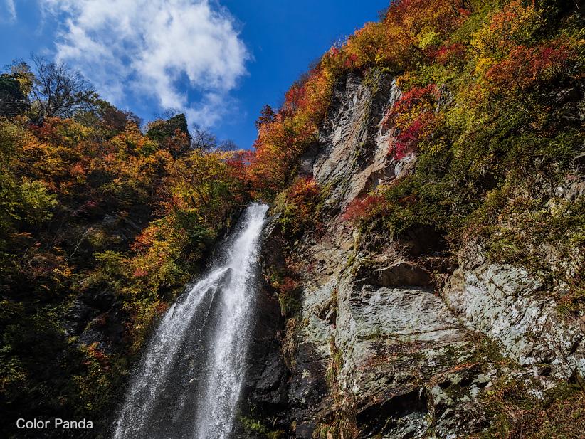 霧ヶ滝、赤滝