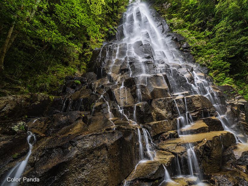 アナギの滝、デンガラ滝